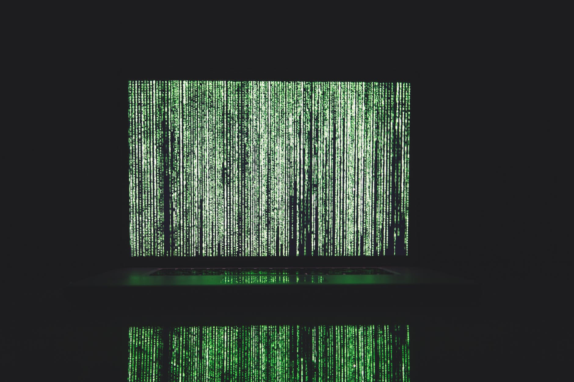 green and white line illustration Heighten Chatbot Security
